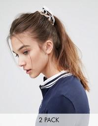 Набор из 2 резинок для волос Johnny Loves Rosie - Синий