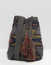Вязаная сумка Hat Attack - Серый