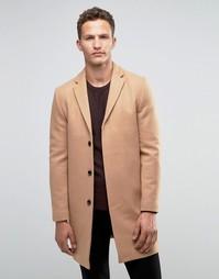 Кашемировое пальто Selected Homme - Рыжий