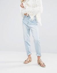 Джинсы в винтажном стиле Ebonie n Ivory Kimi - Синий