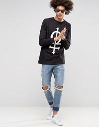 Лонгслив Long Clothing Omega - Черный