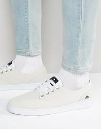 Кроссовки на шнуровке Emerica Romero - Белый