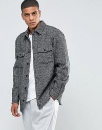 Куртка-рубашка Weekday Leon - Серый