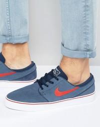Синие кроссовки Nike SB Stefan Janoski 333824-408 - Синий