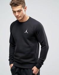 Черный свитшот Nike Jordan Jumpman Flight 823068-010 - Черный