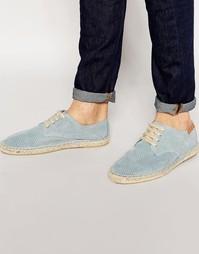 Синие эспадрильи на шнуровке Bronx - Синий