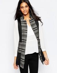 Пиджак с вышивкой Jovonna Premier Amina - Черный
