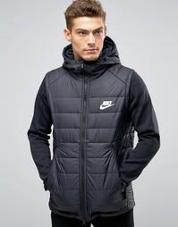 Черная куртка с капюшоном Nike AV15 806856-010 - Черный