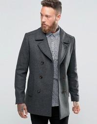 Пальто-бушлат Ted Baker - Серый