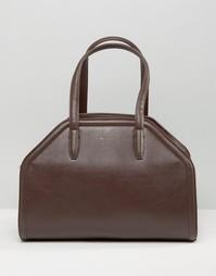 Структурированная сумка-тоут Matt & Nat - Коричневый