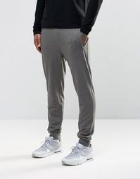 Трикотажные штаны зауженного кроя Troy - Серый