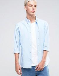 Оксфордская рубашка Troy - Синий