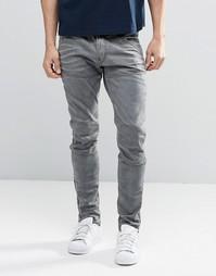 Узкие джинсы со змейками на щиколотке G-Star 5620 3D - Stone