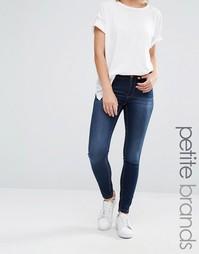 Супероблегающие джинсы Noisy May Petite Lucy - Синий