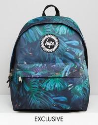 Рюкзак с тропическим принтом Hype - Зеленый