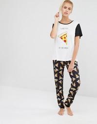 Пижамный комплект Minkpink Pizza Love - Мульти