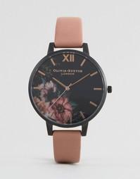 Часы на кожаном ремешке Olivia Burton After Dark OB15FS60 - Розовый