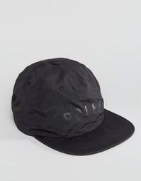 Нейлоновая 6-панельная кепка Poler - Черный