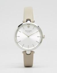 Часы с серым кожаным ремешком Kate Spade Holland 1YRU0813 - Серый