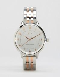 Часы с металлическим ремешком Armani Exchange AX5370 - Мульти