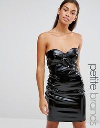 Облегающее платье мини Boohoo Petite - Черный