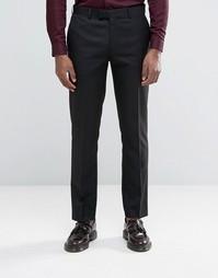 Черные брюки узкого кроя Harry Brown - Черный