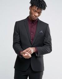 Черный пиджак узкого кроя Harry Brown - Черный