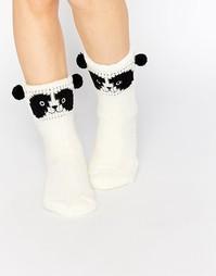 Носки с пандой Totes - Кремовый