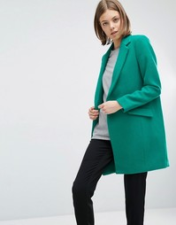 Пальто с застежкой на кнопку See U Soon - Зеленый