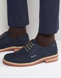 Замшевые туфли Jack & Jones Stan - Темно-синий