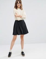 Плиссированная юбка YMC - Серый