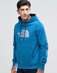 Синее худи с логотипом TNF The North Face - Синий