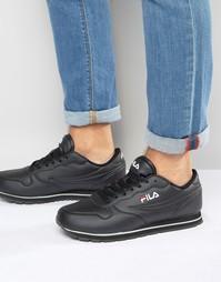 Низкие кроссовки Fila Vintage Orbit - Черный