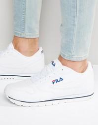 Низкие кроссовки Fila Vintage Orbit - Белый