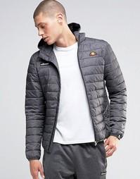 Дутая куртка с капюшоном Ellesse - Серый