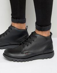 Кожаные ботинки Kickers Kick Hisuma - Черный