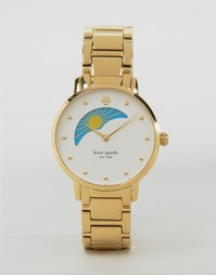 Золотистые часы Kate Spade Gramercy KSW1072 - Золотой
