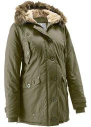 Мода для беременных: куртка с капюшоном (темно-красный) Bonprix