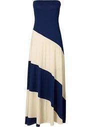 Платье (черный/бежевый) Bonprix