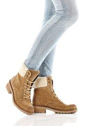 Замшевые ботинки (светло-коричневый) Bonprix