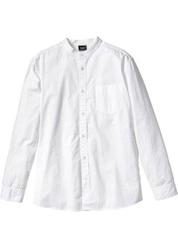 Рубашка Regular Fit с длинным рукавом (темно-синий)