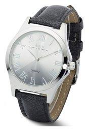 Часы с переходом оттенков (серо-коричневый) Bonprix