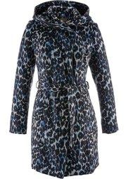 Пальто с узором (кофе-гляса/каменно-бежевый/чер) Bonprix