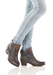 Ботинки на шнурках (темно-серый) Bonprix