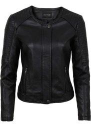 Куртка из искусственной кожи (коричневый) Bonprix
