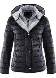 Куртка 2 в 1 из ультралегкого пуха (темно-бордовый) Bonprix