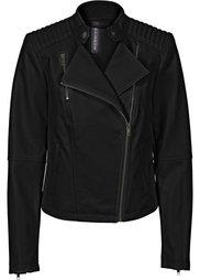 Куртка из искусственной кожи (нежно-розовый) Bonprix