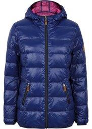 Пуховая куртка (коричнево-оливковый/зеленый ок) Bonprix