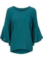 Абсолютный хит: блузка с расклешенными рукавами (темно-красный) Bonprix