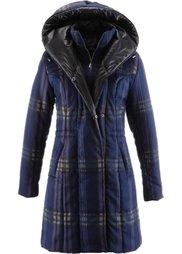 Стеганая куртка (темно-коричневый в клетку) Bonprix